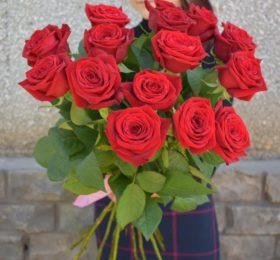15 Роз на ленте