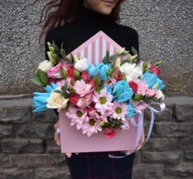 Конверт с цветочками