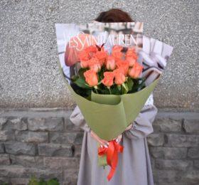 15 Роз в оформлении