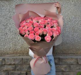 45 Роз в оформлении