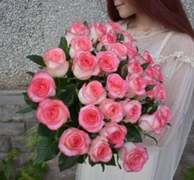 31 Роза (80см) на ленте