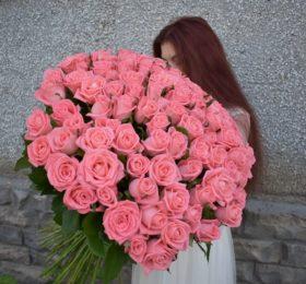 101 Роза (80см)