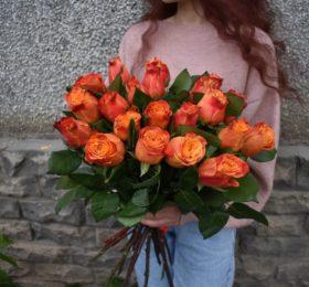 21 Роза (Эквадор) на ленте
