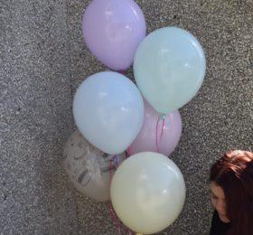 Фонтан из 6 шариков