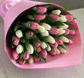 25 Тюльпанов в оформлении