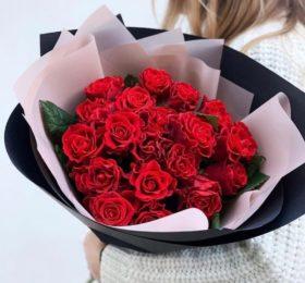 21 Роза в оформлении