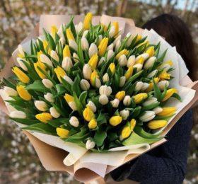 111 Тюльпанов в оформлении