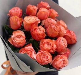 19 Роз в оформлении